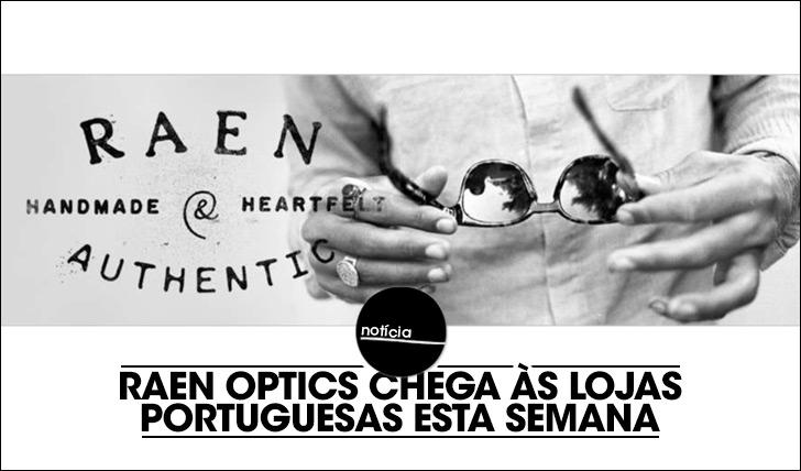 18161RAEN Optics chega às lojas portuguesas