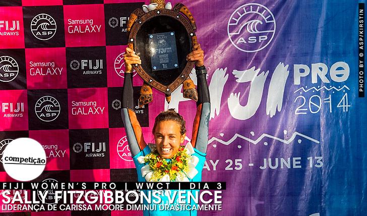 18249Sally vence em Fiji | Liderança de Carissa diminui drasticamente