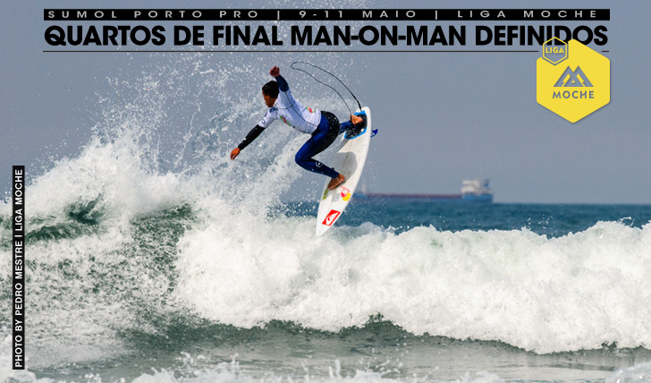 17802Quartos de final man-on-man definidos no Sumol Porto Pro
