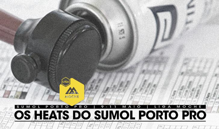 17744Heats do Sumol Porto Pro | Liga MOCHE