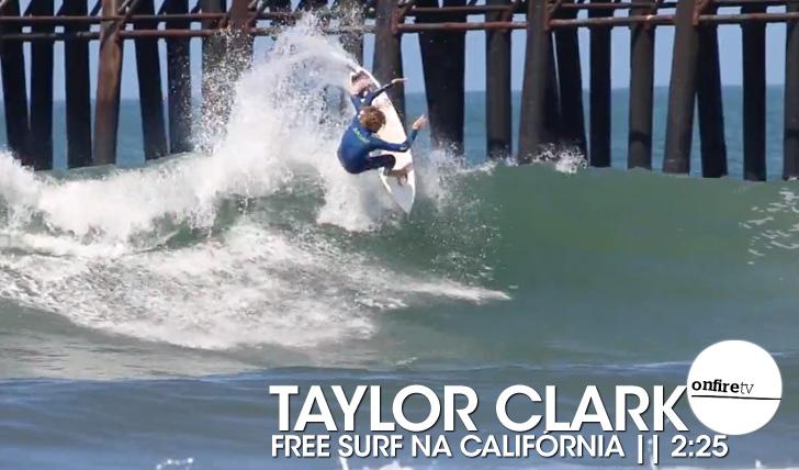 17765Taylor Clark | Free surf na Califórnia || 2:25