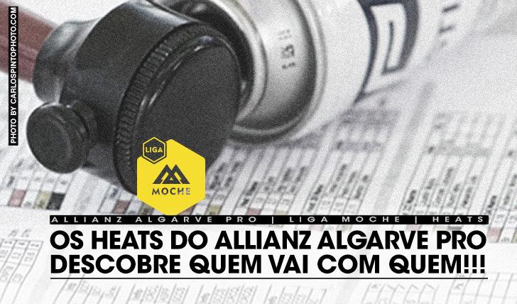 18372Heats definidos para Allianz Algarve Pro