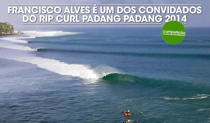 18657Francisco Alves convidado para o Rip Curl Padang Padang 2014