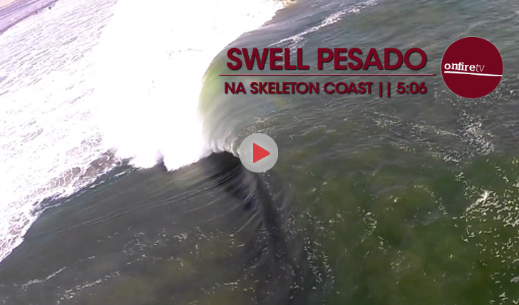 18552Swell pesado na Skeleton Coast || 5:06
