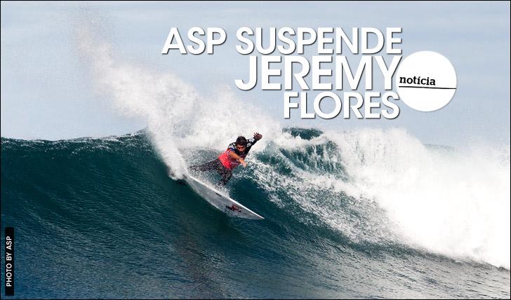 19018ASP suspende Jeremy Flores