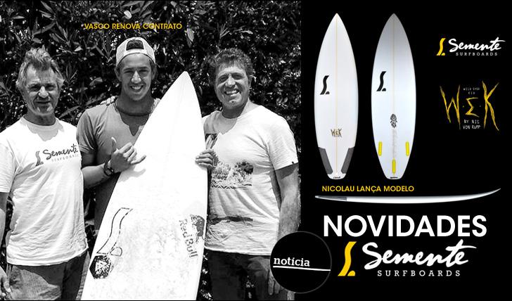 18960Novidades Semente | Vasco Ribeiro renova | Nicolau lança modelo