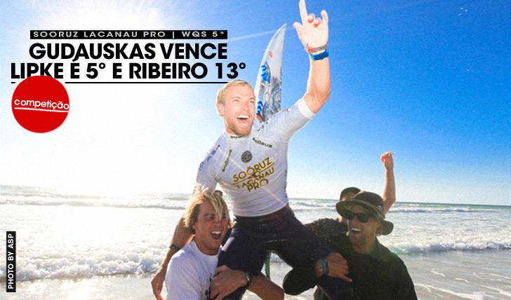 19543Lipke é 5º, Ribeiro 13º e Gudauskas vence WQS de Lacanau