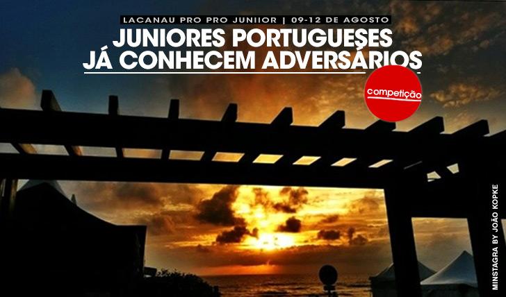 19346Juniores portugueses já conhecem adversários para Lacanau Pro Junior