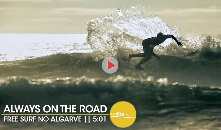 20098Always on the road | Algarve free surf || 5:01