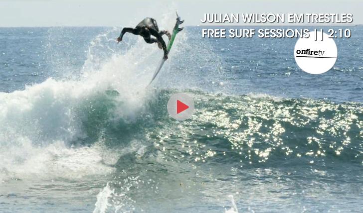 20169Julian Wilson | Free surf em Trestles || 2:10