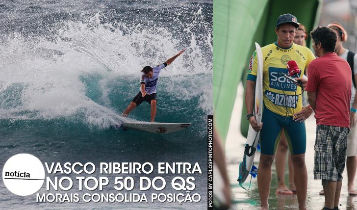 19901Ribeiro entra no top50 do QS | Morais consolida posição