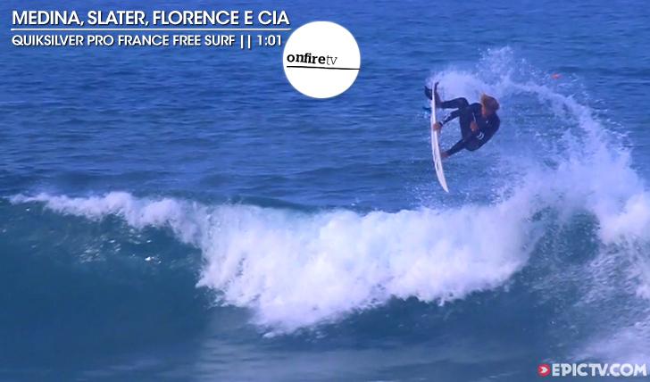 20446Medina, Slater, Florence e cia | Quik Pro France free surf || 1:01