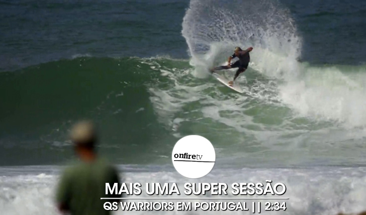 21131QS Warriors em Portugal | Free surf || 2:34