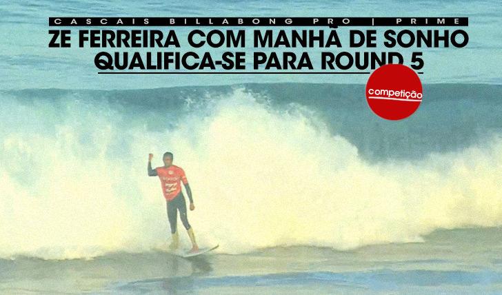20602Zé Ferreira com manhã de sonho qualifica-se para o round 5 P