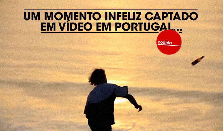 21508Um momento infeliz captado em vídeo em Portugal…