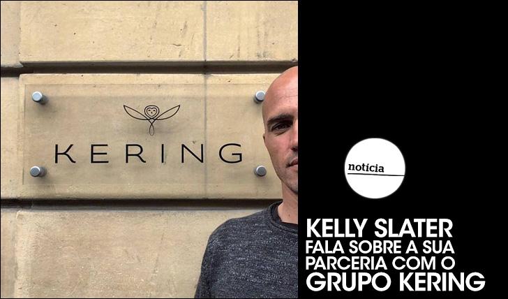 21673Slater fala sobre a sua parceria com o grupo Kering