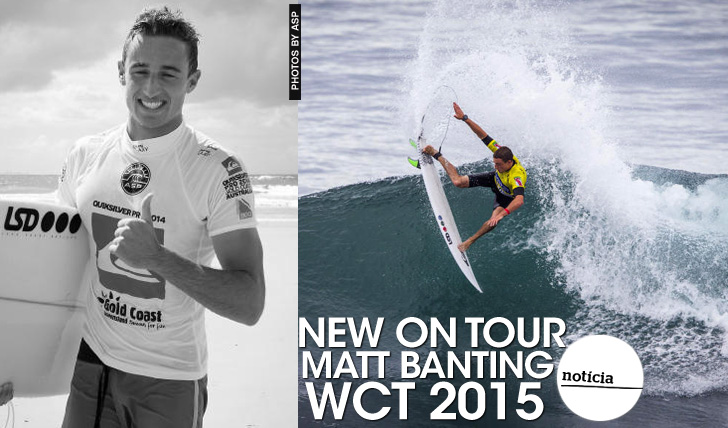 21725WCT 2015 | Matt Banting | New on Tour