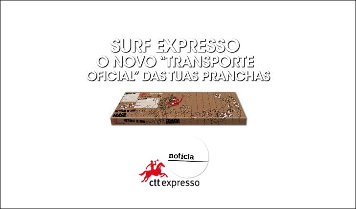 """21394CTT cria """"Surf Expresso"""", um produto inovador para surfistas"""