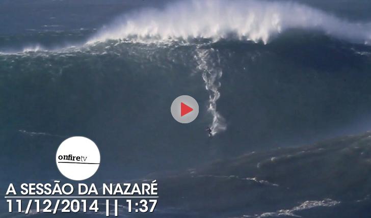 "22152A ""big session"" na Nazaré || 1:37"