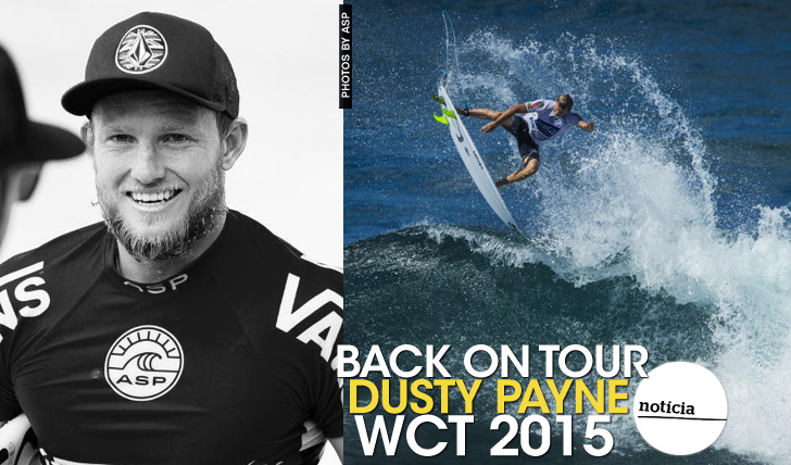 22116WCT 2015 | Dusty Payne | Back on Tour