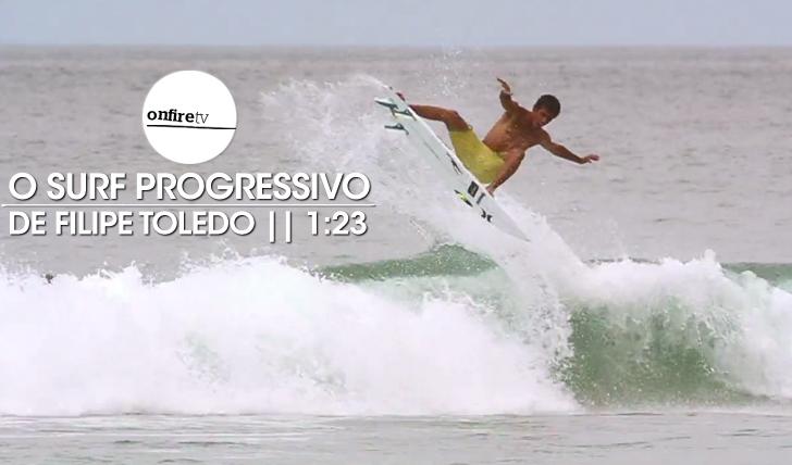 21955O surf progressivo de Filipe Toledo || 1:23
