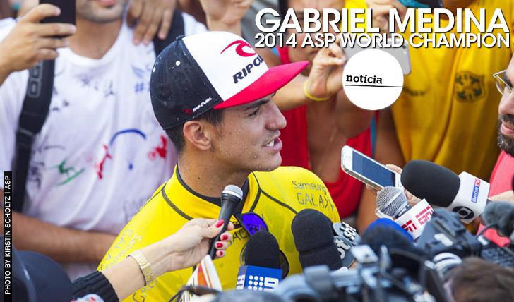 22368Gabriel Medina é o campeão mundial de 2014