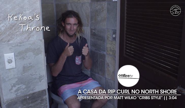 "22113Matt Wilko mostra a casa da Rip Curl ""Cribs Style"" || 3:04"