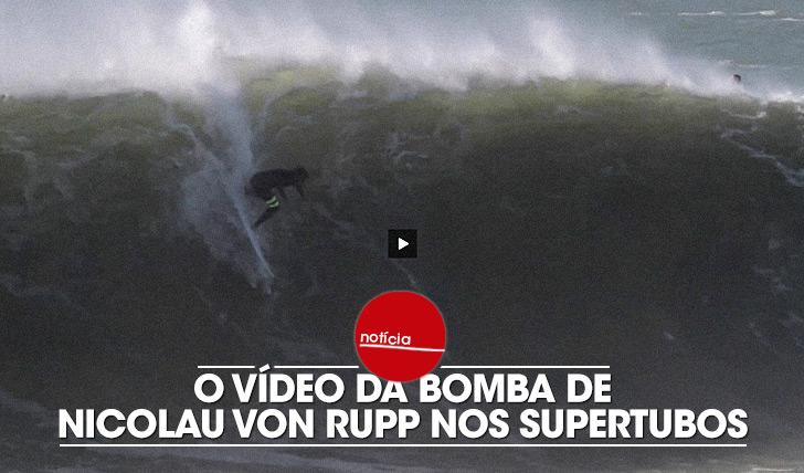 21971O vídeo da inacreditável onda de Von Rupp nos Supertubos