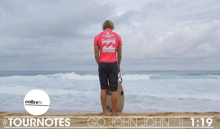 22219#Tournotes   Go John John    1:19