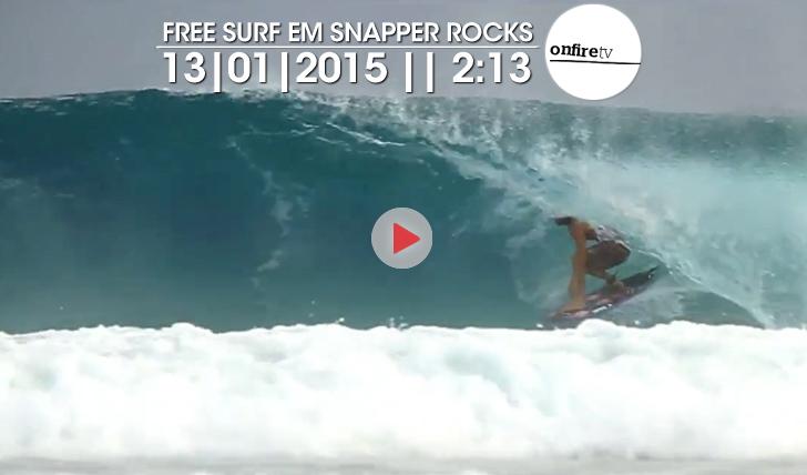 22668Free Surf em Snapper Rocks | 13/01 || 2:13