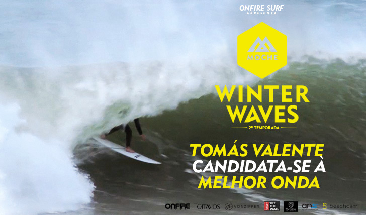 "22977Tomás Valente candidata-se à ""Melhor Onda"" do MOCHE Winter Waves 