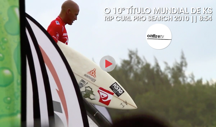 22567O 10º Título de Kelly Slater | Rip Curl Pro Search 2010 || 8:54