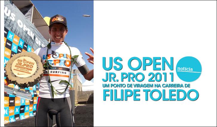 23859US Open Jr. Pro 2011 | Um ponto de viragem na carreira de Filipe Toledo