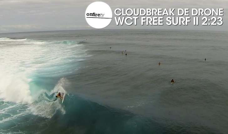 24242Cloudbreak de Drone | WCT Free surf || 2:23