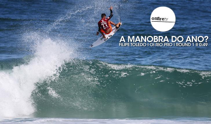 24773A manobra do ano? | Filipe Toledo | Round 1 || 0:49