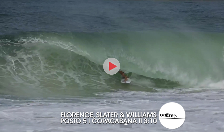 24900John John Florence, Kelly Slater e Ross Williams | Posto 5 | Copacabana || 3:10