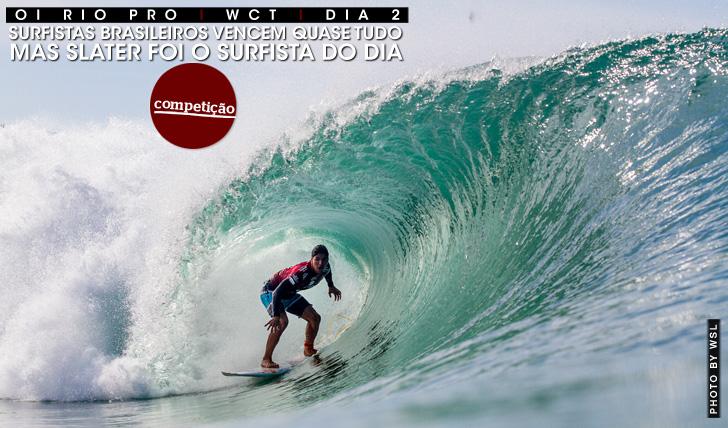 24778Brasileiros destacam-se no Oi Rio Pro mas Slater domina | Dia 2