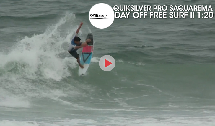 24610Quiksilver Pro Saquarema | Day Off Free Surf || 1:20