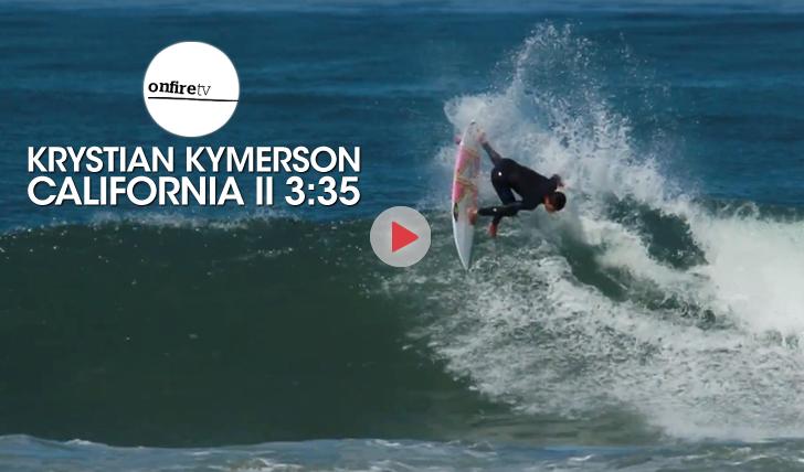 25475O surf progressivo de Krystian Kymerson na Califórnia || 3:35