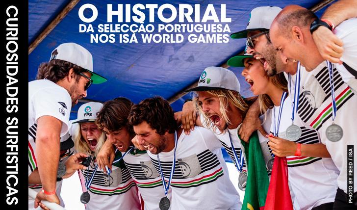 25295A história da Selecção Nacional nos ISA World Games