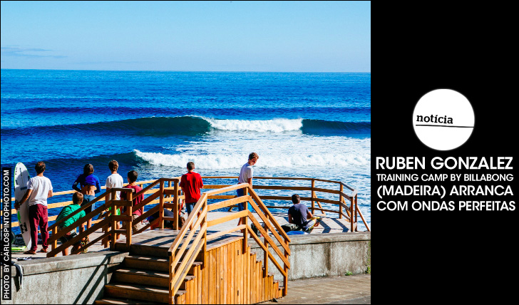 25650Ruben Gonzalez Training Camp by Billabong arranca com ondas perfeitas