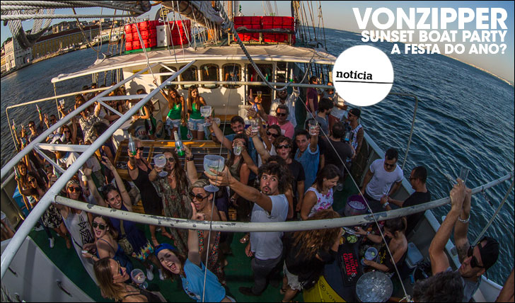 25501VonZipper Sunset Boat Party | A festa do ano?