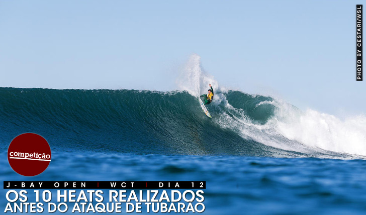 26025JBay Open | Os 10 heats realizados antes do ataque
