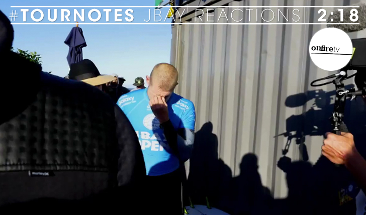 26090#Tournotes | JBay Reactions || 2:21