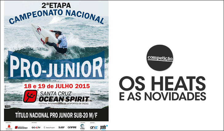 25960Pro Junior – Santa Cruz | Os heats e as novidades