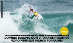 Pedro Henrique acabou o Sooruz Lacanau Pro em 9º lugar.