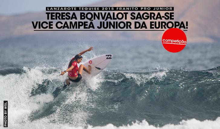 27189Teresa Bonvalot sagra-se vice-campeã júnior da Europa!