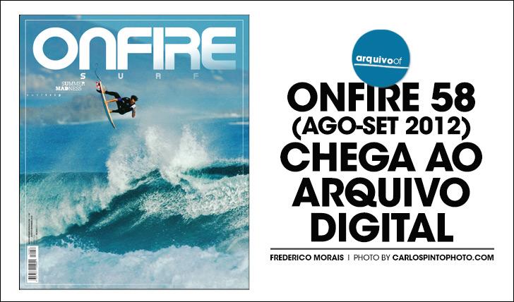 26792ONFIRE 58 | Ago-Set 2012 || 84 pág.