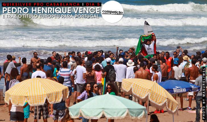 27032Pedro Henrique vence em Casablanca e garante o título Europeu para Portugal
