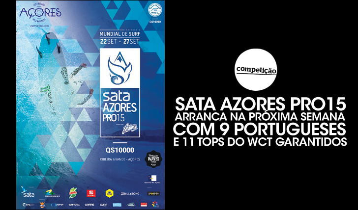 270599 portugueses e 11 tops do CT garantidos no Sata Azores Pro